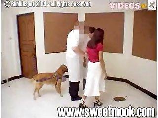 Sweet Mook Eating Dog Shit 002