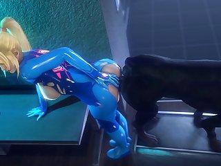 Knotting Samus (noname55)3D Bestiality