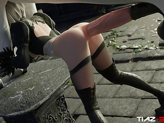 2b X Horse Video Preview 23D Bestiality