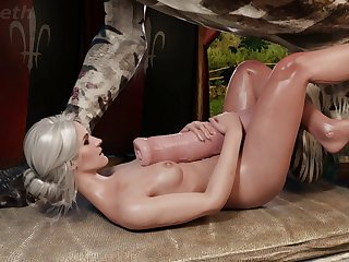 Ciri And Her Animal Fiend (niodreth)[monster]3D Bestiality