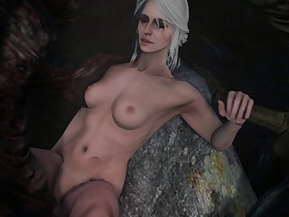 Ciri With A Couple Of Monsters, Cumshot Image In Comments. [witcher] (weebstank)[monster]3D Bestiality