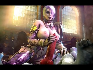 Ivy Valentine Jerking Off A Wolf [soul Calibur](the Firebrand)[dog Wolf]3D Bestiality